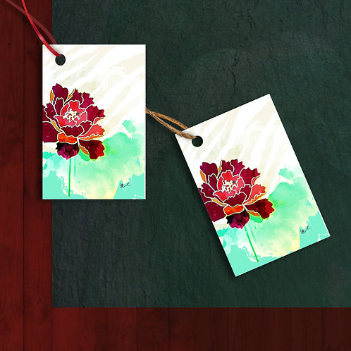 'California Christmas' Gift Tags / 12pcs