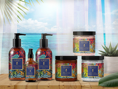 Kalani Skin Care Packaging