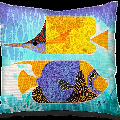 'Crazy Fish' Pillow