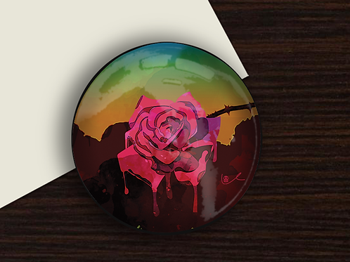 'Weeping Rose' Paperweight