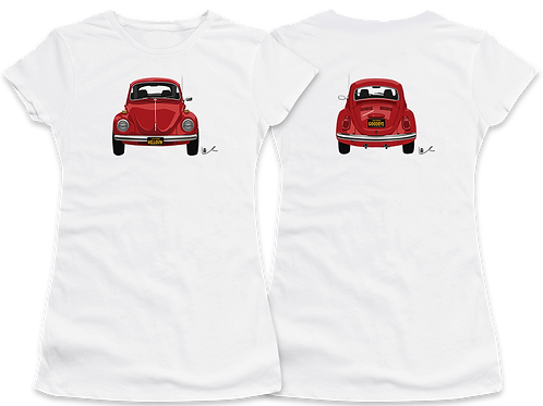 Beetle Women's T-Shirt / Front and Back Print