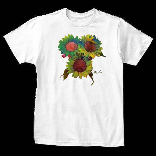 'Groovy Sunflowers' Kids T-Shirt