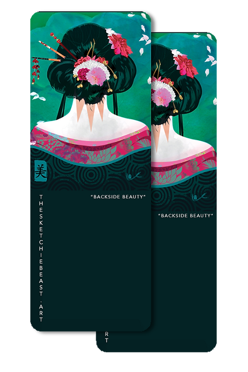 'Backside Beauty' Bookmark
