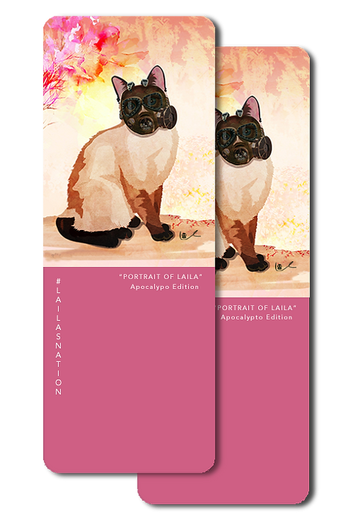 'Portrait of Laila / Apocalyptic Edition' Bookmarks