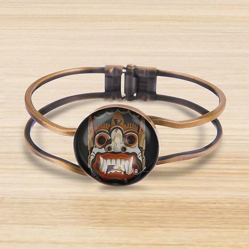 'Lotus Eater' Bezel Hinge Bracelet