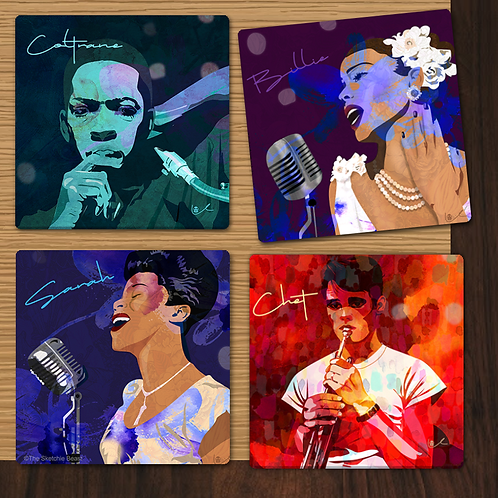 'All That's Jazz' Coaster Collection