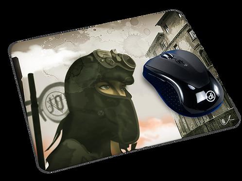 'War Torn' Mousepad