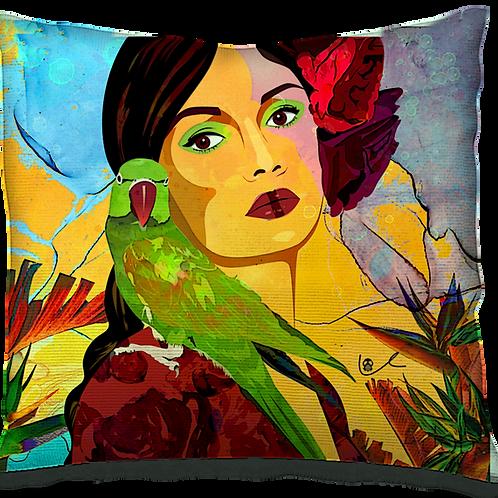 'Birds of Paradise' Pillow