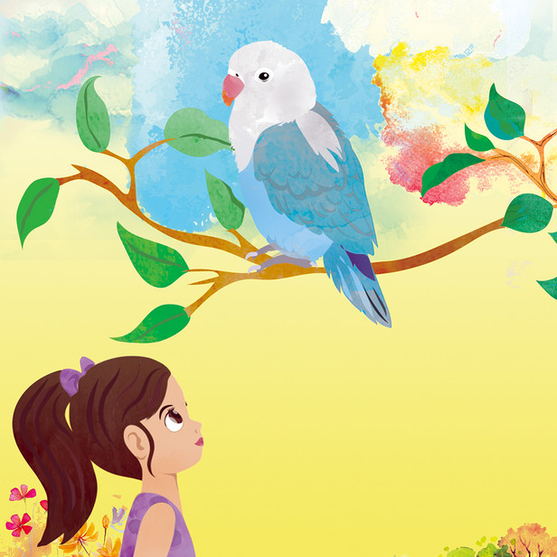 A Lovebird Named Lucy