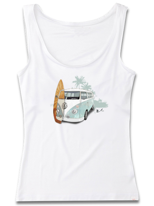'Surf City in Retrograde' Womens Tank