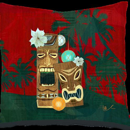 'Tiki Party' Pillow