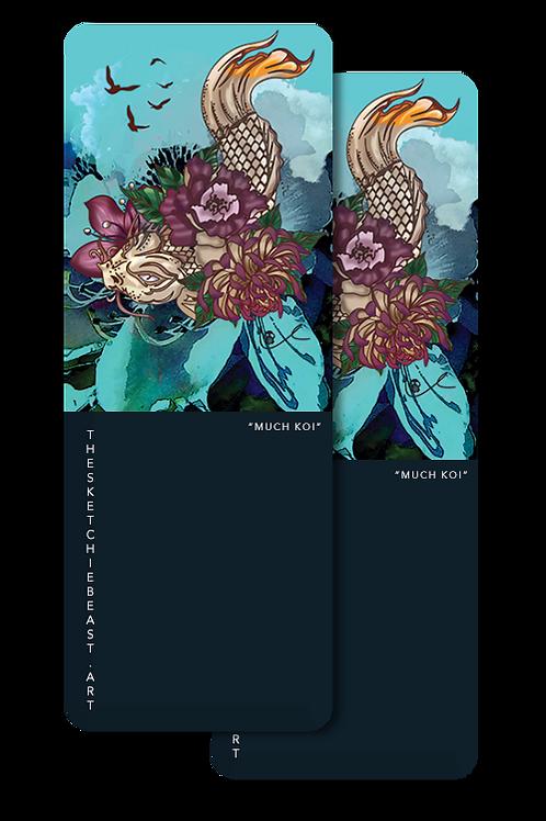'Much Koi' Bookmarks