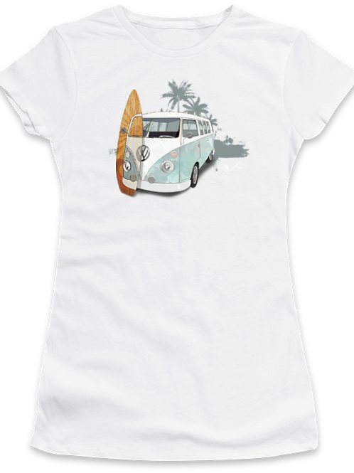 'Surf City in Retrograde' Womens T-Shirt
