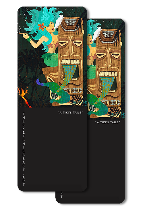 'A Tiki's Taile' Bookmarks