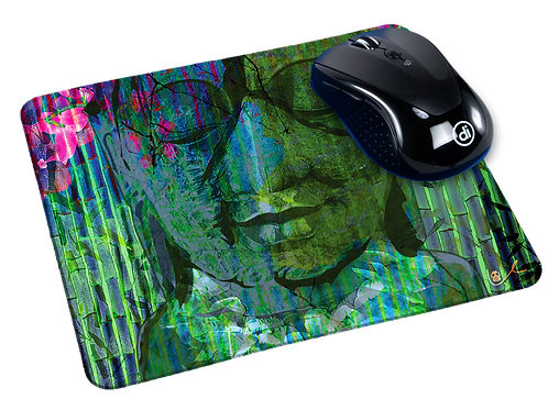 'Flawed and Serene' Mousepad
