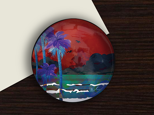 'Tropical Storm' Paperweight