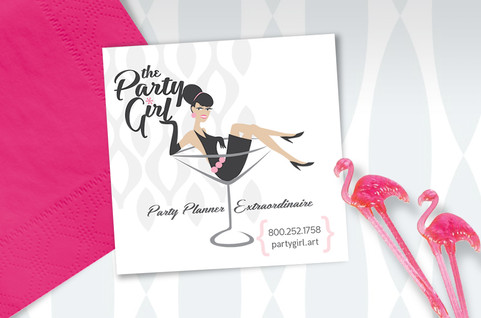 Event Planner Business Card Design