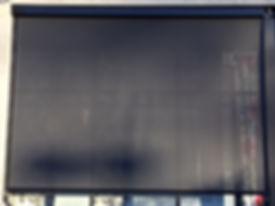 stright drop external blind | innovative curtains & blinds