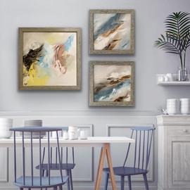 Mini artwork on oils - framed