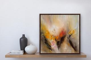 Bright morn - oil on canvas