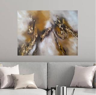 Blaze - oil on canvas