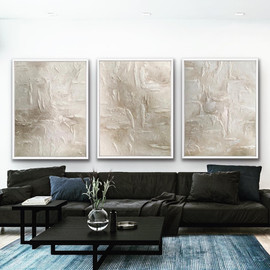 Triptych - commissioned artwork