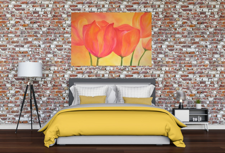 Floral artwork - SOLD