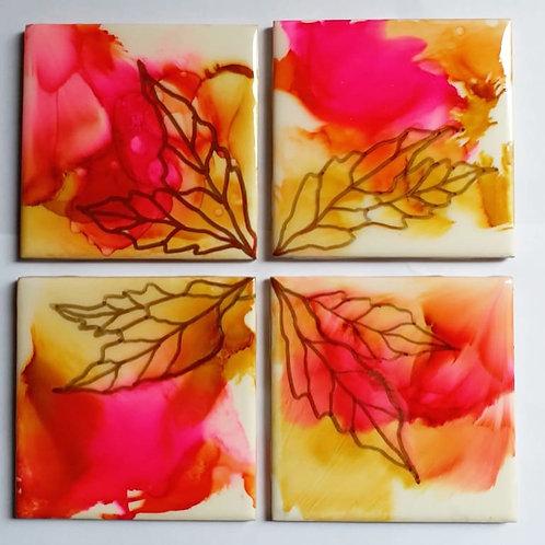 Handpainted Coasters