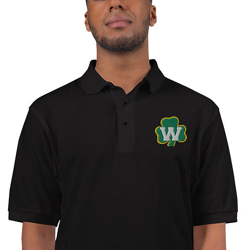 Men's Premium Polo - Shamrock