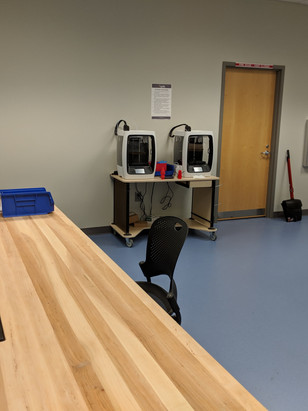 3D Printers in the Fab Lab
