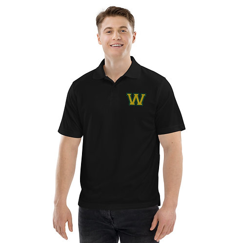 "Men's Champion Performance Polo - Gold ""W"""