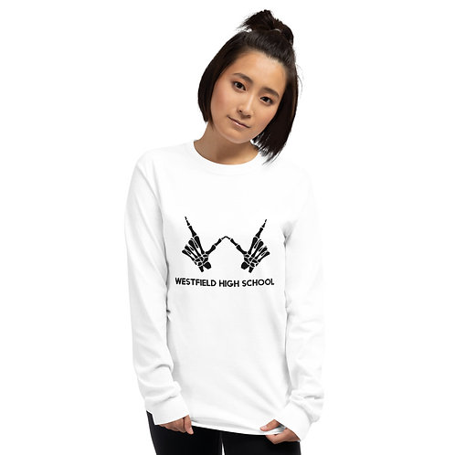 WHS Skeleton Long Sleeve Shirt