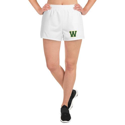"Women's ""W"" Athletic Short Shorts"