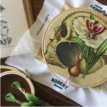 Anatomical Embroidery