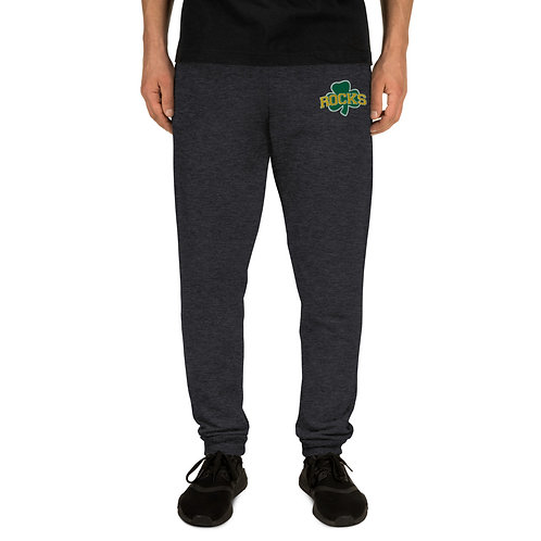 Unisex Embroidered Rocks Joggers