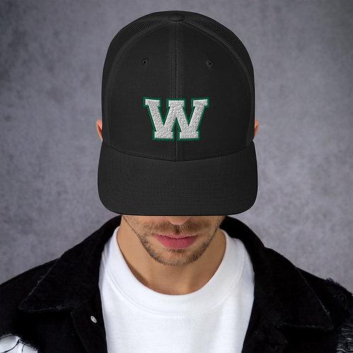 """""""W"""" Retro Trucker Cap"""