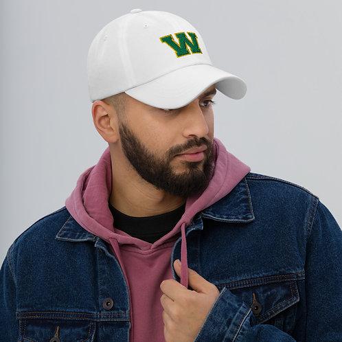 "Green ""W"" Adjustable Hat"