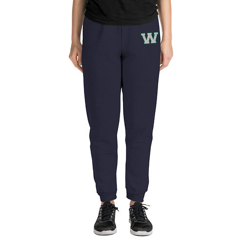 "Unisex ""W"" Embroidered Joggers"
