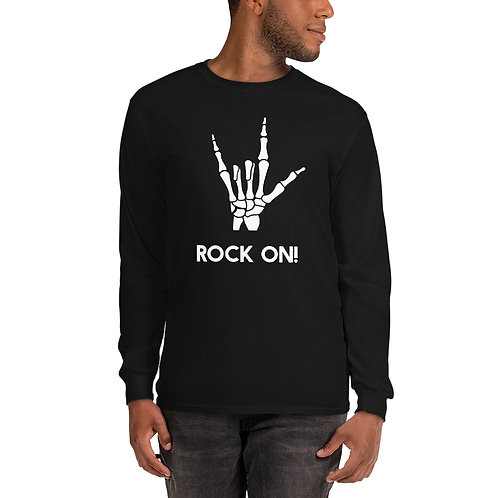 Rock On Halloween Long Sleeve Shirt