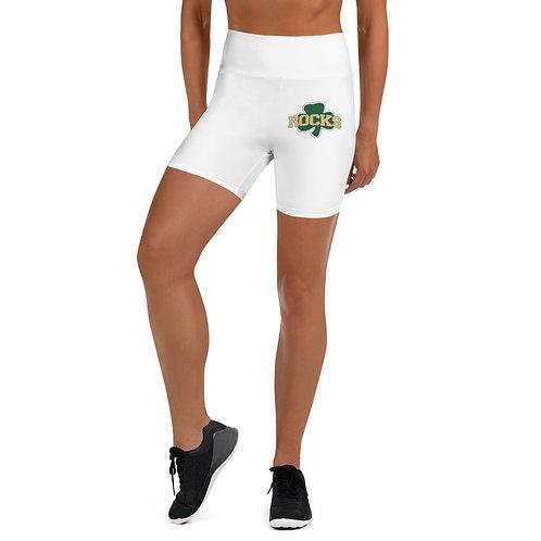 Shamrock Yoga Shorts