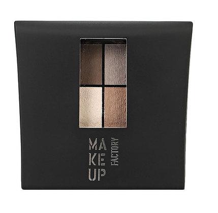 Матовые 4-х цветные тени для глаз Mat Eye Colors т.070