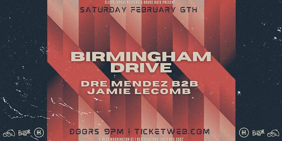 BDRIVE | Dre Mendez + Jamie LeComb @ Elixir