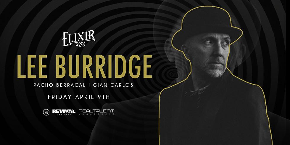 Lee Burridge @ Elixir