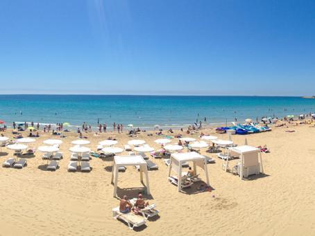 Alicante, baño adentro