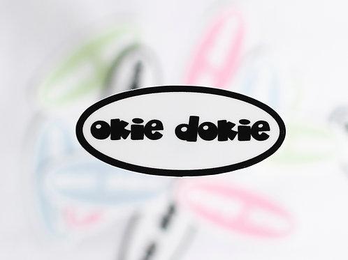 Okie Dokie Sticker
