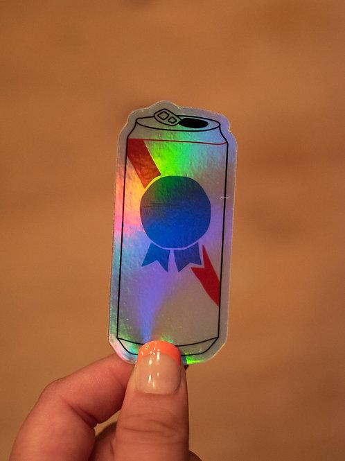 PBR Holographic Sticker