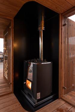 Saunaovn i Oslo Fjord Sauna