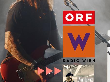 Zu Gast bei Radio Wien