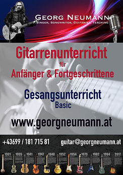 Georg Neumann Gitarren- und Gesangsunterricht