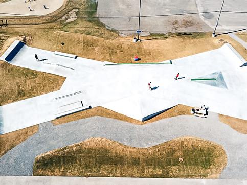 Skateparc au parc de la Ribambelle